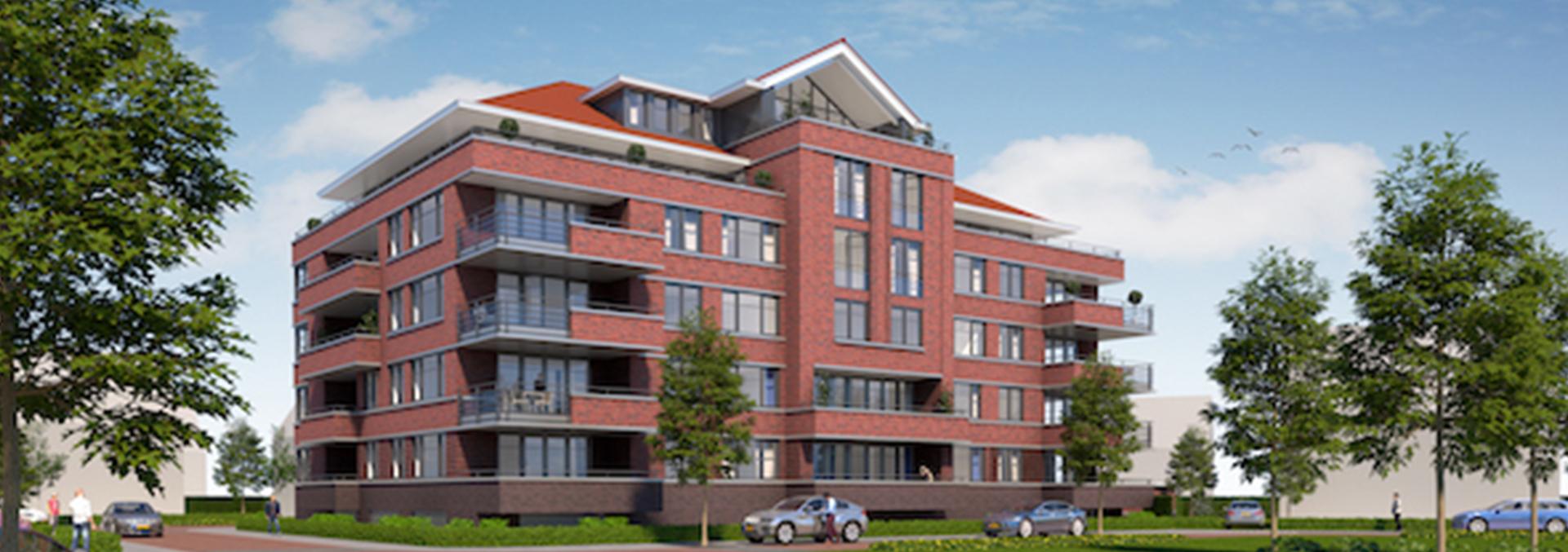 Nieuwbouw 21 appartementen Schiedam